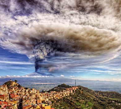 Фото бесплатно Centurupe, вулкан Этна, Италия