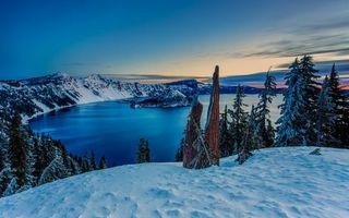 Бесплатные фото зима,горы,деревья,снег,озеро,лед