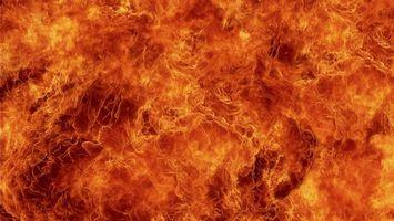 Фото бесплатно языки, пламя, заставка