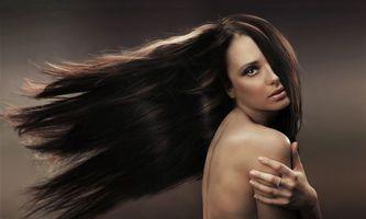 Фото бесплатно волосы, модель, настроение