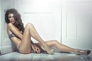 Фото бесплатно красивая девушка, сексуальные девушки, нижнее белье
