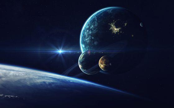 Обои планеты, космос на рабочий стол высокого качества