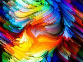 Рисунок акриловыми красками · бесплатное фото