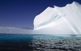 Бесплатные фото море,айсберг,льдина,небо