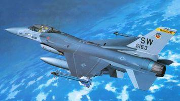 Заставки самолет, истребитель, кабина, пилот, крылья, ракеты, хвост