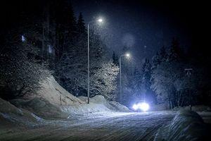 Фото бесплатно огни, пейзаж, снег