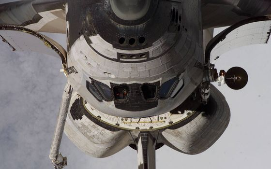 Фото бесплатно шаттл, дискавери, космический корабль, орбита