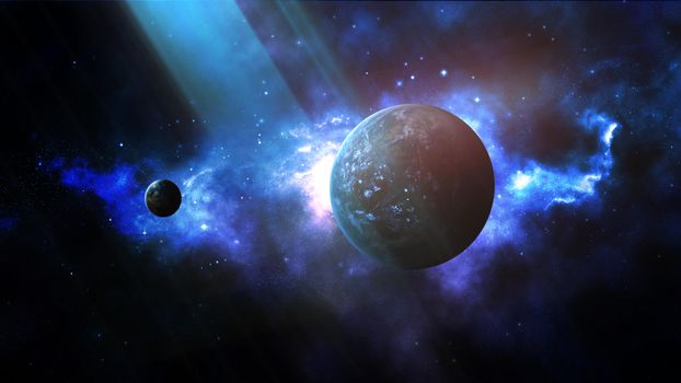 Download picture vast expanses of space, space for your desktop for free