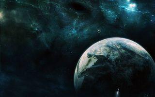 Бесплатные фото космос,планеты,космический корабль,звезды,свечение,невесомость,вакуум