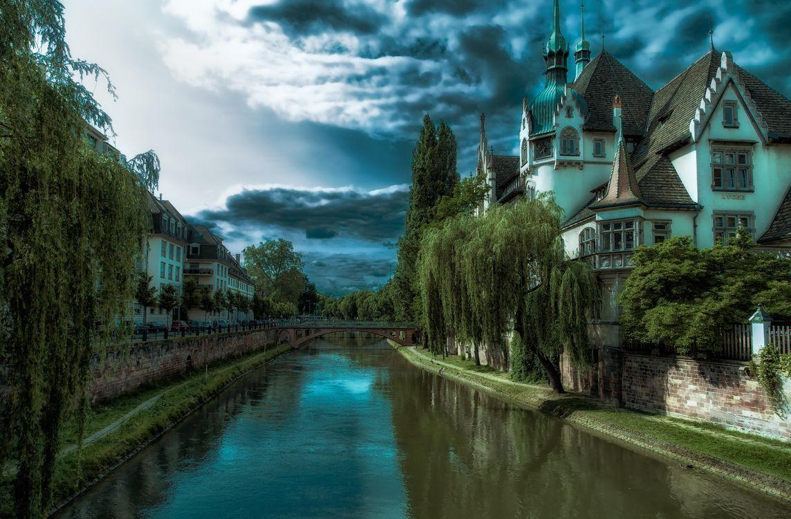 Фото бесплатно Strasbourg, Страсбург, Франция - на рабочий стол