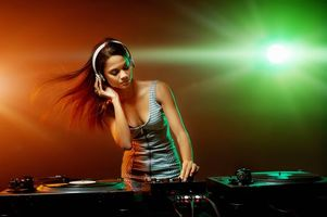 Photo free DJ, headphones, music