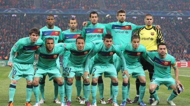 Photo free football, team, barcelona