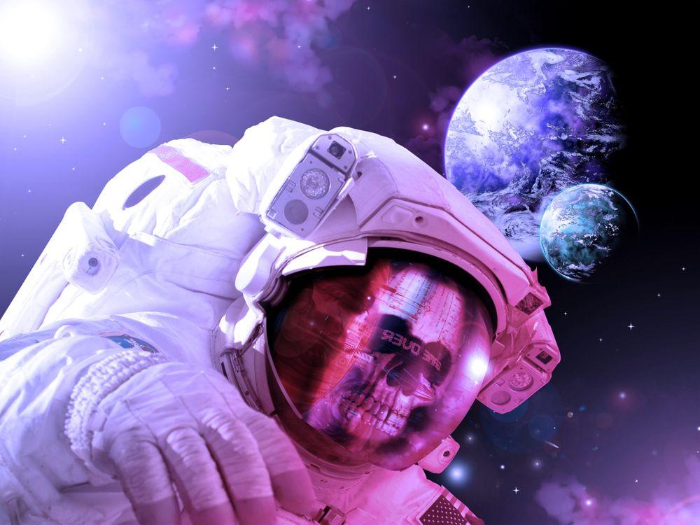 Фото бесплатно космос, вселенная, планеты, звезлы, созвездия, свечение, невесомость - на рабочий стол