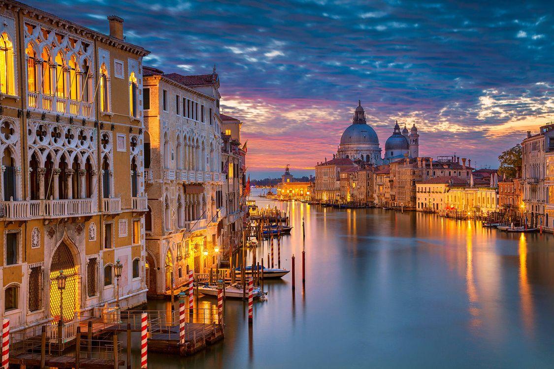 Фото бесплатно Grand Canal, Venice, Italy, Большой канал, Венеция, Италия, город
