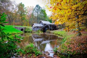 Фото бесплатно Mabry Mill, Virginia, осень