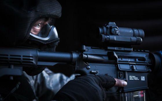Фото бесплатно мужчина, военный, оружие
