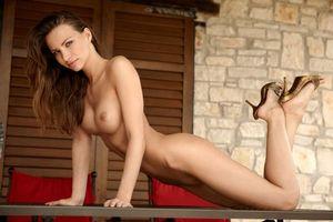 Заставки Veronica Clinton, Agnes, Agnes B, Cindy, красотка, девушка, модель, голая, голая девушка, обнаженная девушка, позы, поза