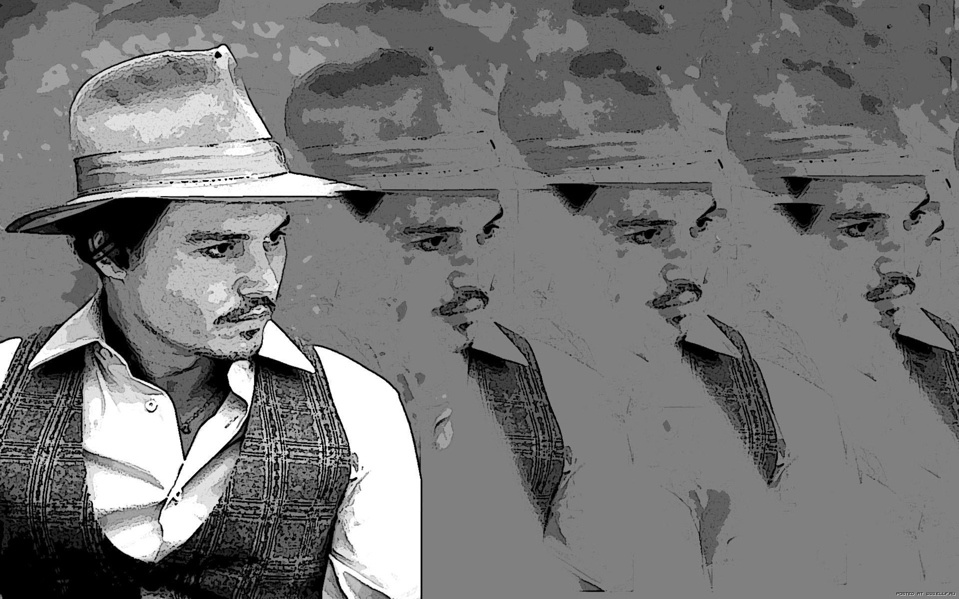Джонни Дэпп, киноактер, шляпа