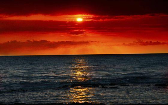 Photo free amber, landscapes, sky