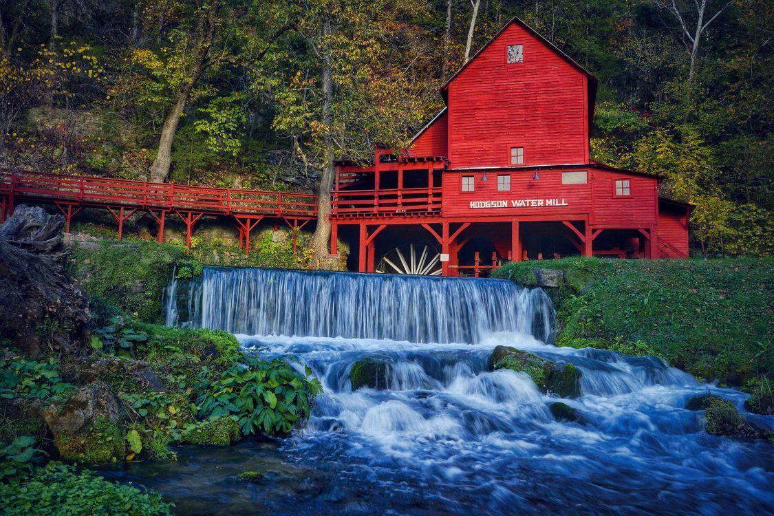 Photos for free Hodgson Mill, Ozark County, Missouri - to the desktop