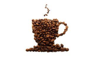 Бесплатные фото кофе,зерна,рисунок,чашка,блюдце,пар