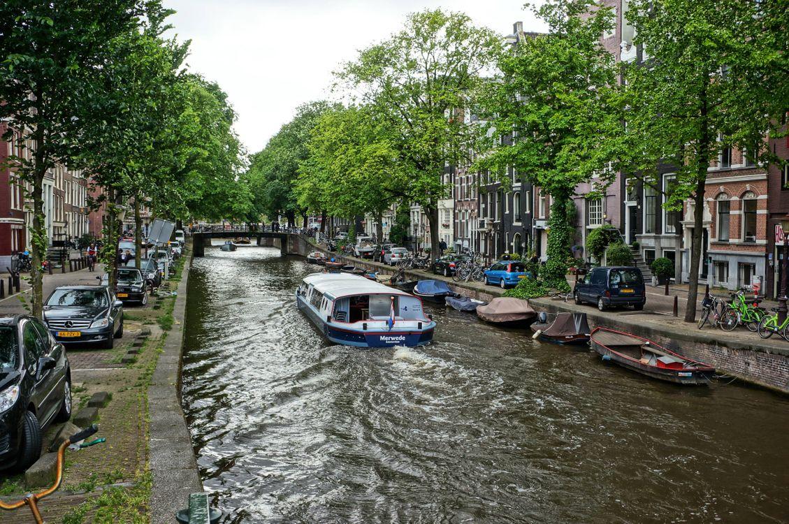 Скачать картинку амстердам, столица и крупнейший город нидерландов для рабочего стола бесплатно
