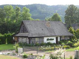 Бесплатные фото частный дом,крыша,труба,двор,ограда,забор,деревья