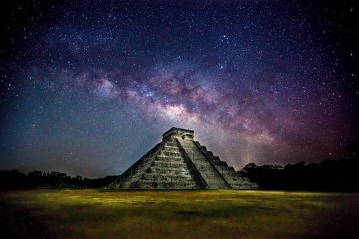 Заставки yucatan, небо, ночь