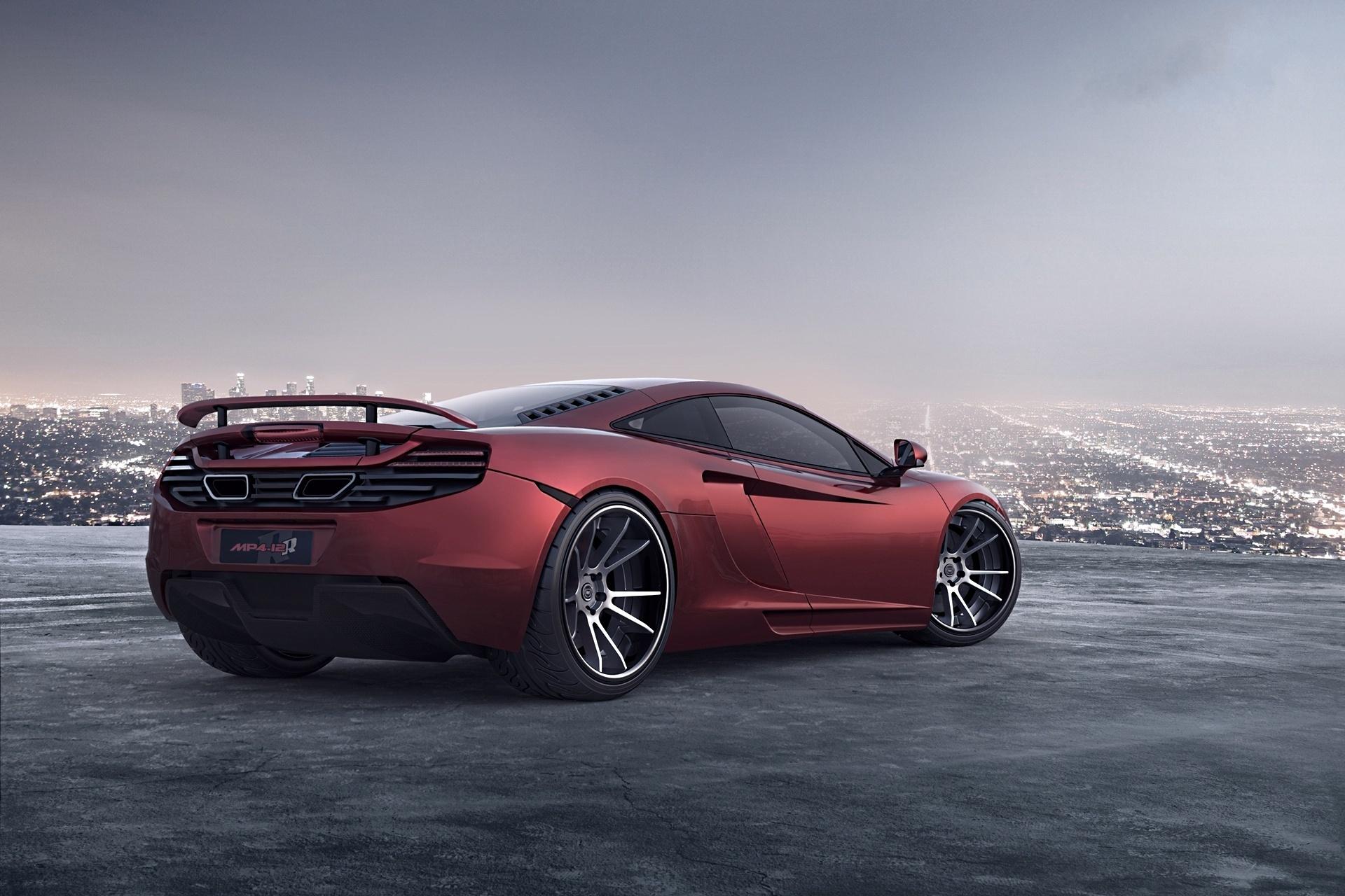 McLaren суперкар фон скачать