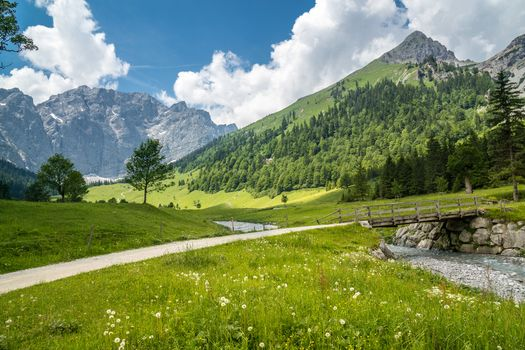 Karwendel, Austria, Alps, Карвендель, Австрия