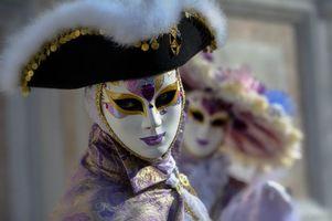 Фото бесплатно маска, венецианский наряд, праздник