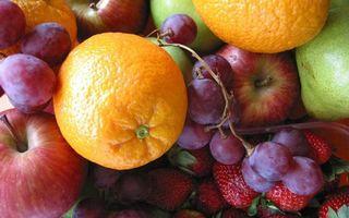 Бесплатные фото фрукты,ягода,апельсины,яблоки,виноград,клубника,груши