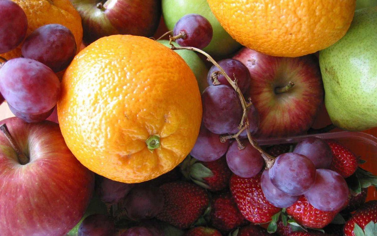 Фото бесплатно фрукты, ягода, апельсины - на рабочий стол