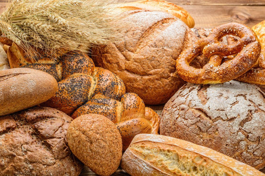Фото бесплатно кренделя, колосья, хлеб, еда, еда