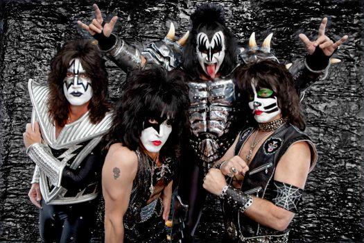 Заставки Имидж, группа Kiss, певцы