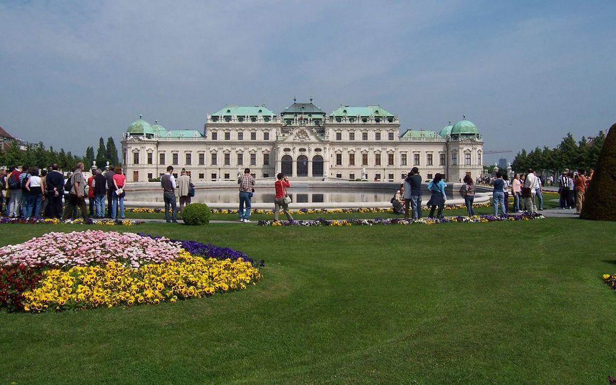 Фото бесплатно достопримечательность, дворец, пруд - на рабочий стол