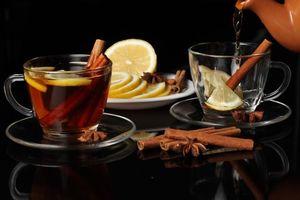 Фото бесплатно напиток, чай, корица