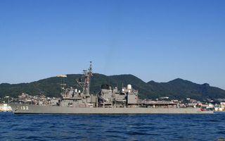Бесплатные фото корабль военный,палуба,вооружение,надстройки,антенны,море,побережье