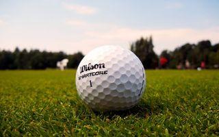 Бесплатные фото поле,трава,газон,мяч,гольф,надпись