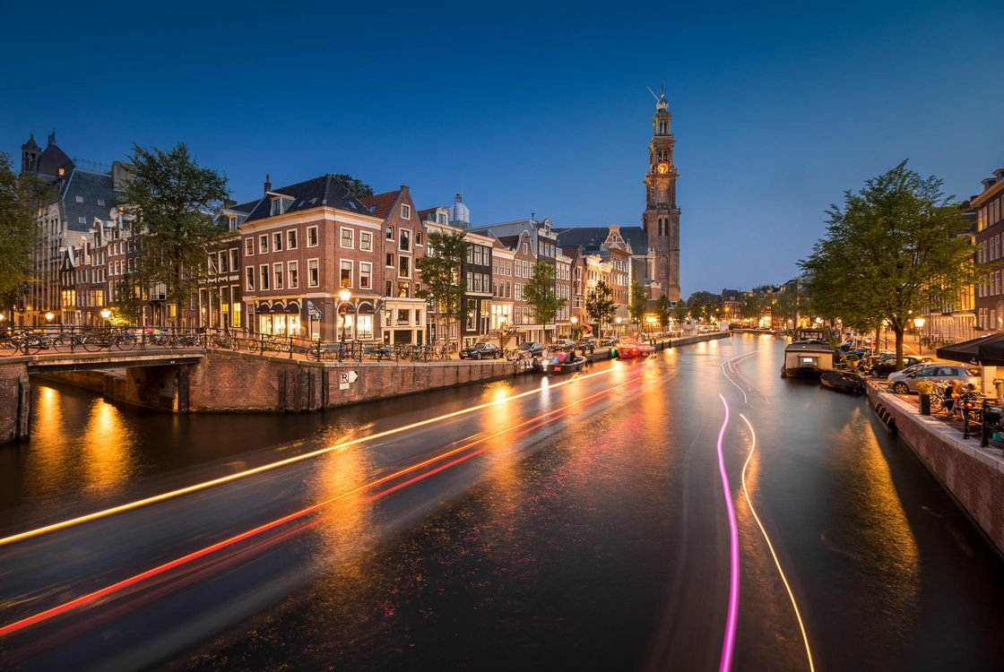Фото бесплатно Амстердам, Нидерланды, Голландия, город