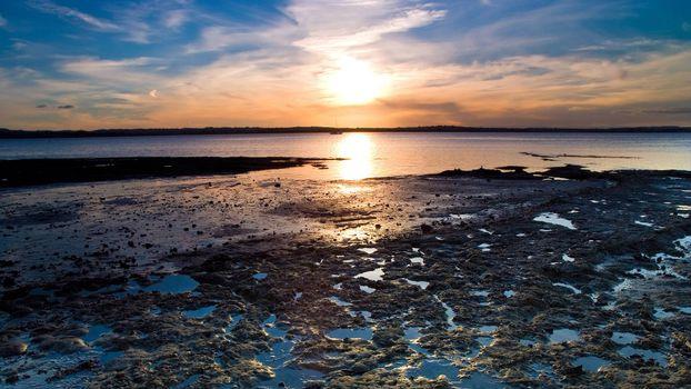 Фото бесплатно берег, отмель, озеро