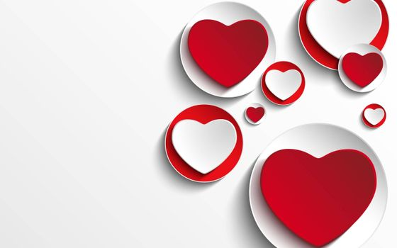Photo free hearts, saucers, Valentine