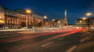 Фото бесплатно Lisbon, Portugal, Лиссабон, Португалия, город, ночь