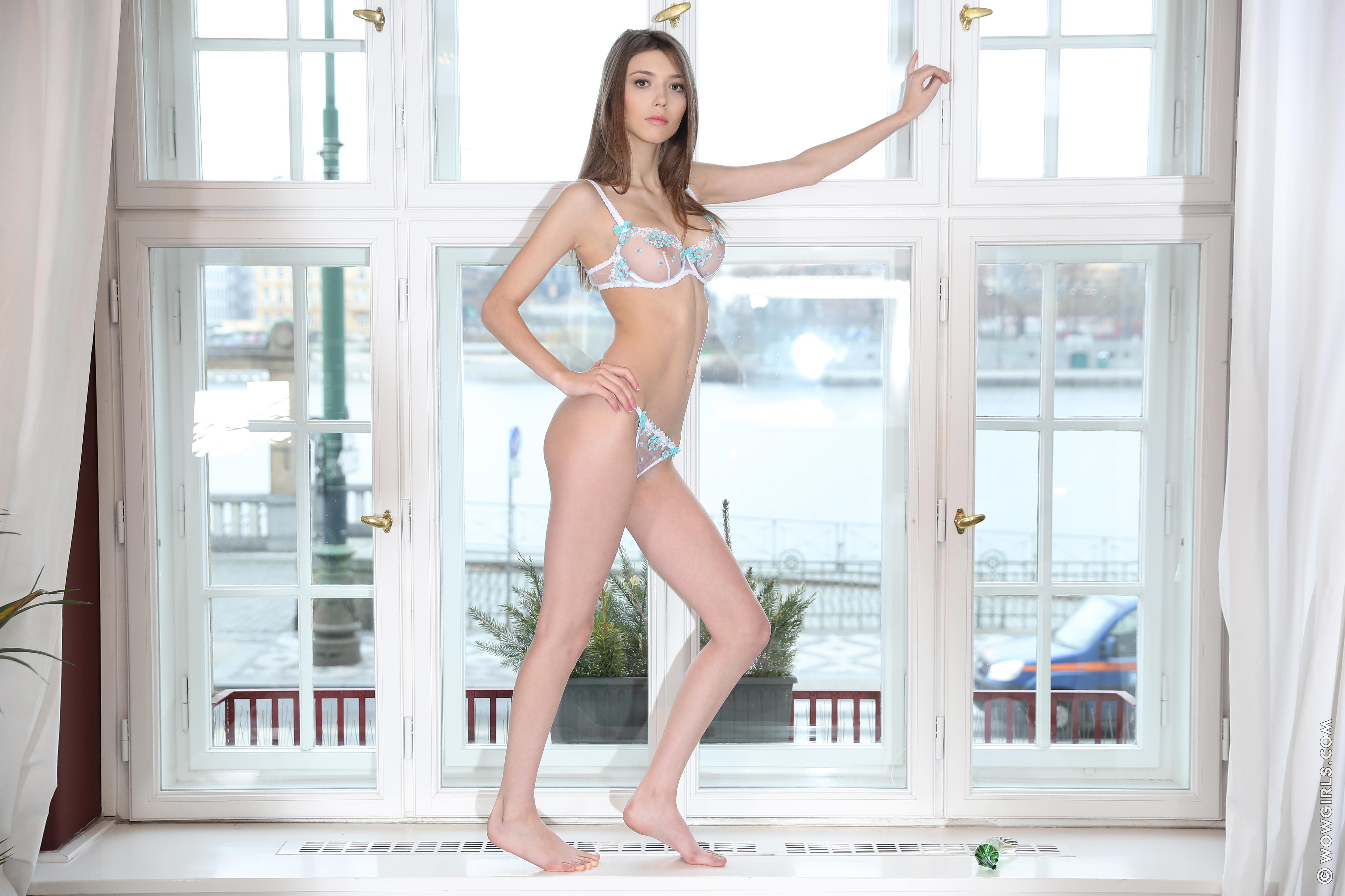 обои Milla Azul, красотка, голая, голая девушка картинки фото