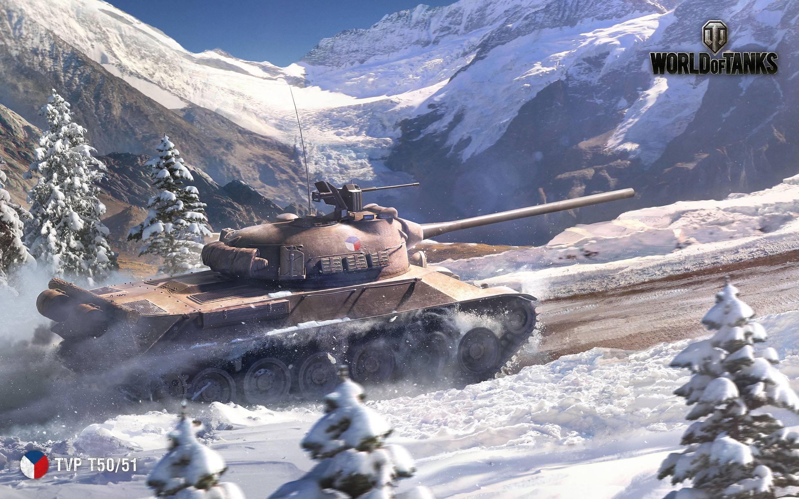 Обои С новым годом, world of tanks