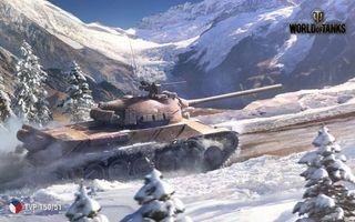 Фото бесплатно С новым годом, world of tanks, шутер от первого лица