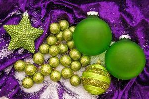 Фото бесплатно новый год, шарики, украшения