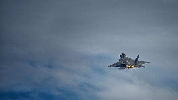 Photo free fighter, turbines, flight