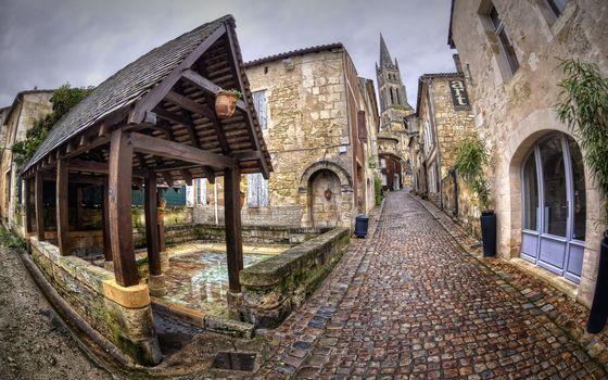 Бесплатные фото улочка,брусчатка,камни,дома,окна,строение