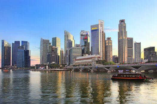 Фото сингапур, город - обои на стол